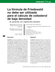 La fórmula de Friedewald no debe ser utilizada ... - edigraphic.com