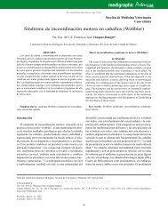 Síndrome de incoordinación motora en caballos (Wobbler)