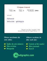 Infección quirúrgica - edigraphic.com