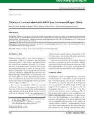 Ohtahara syndrome associated with H-type ... - edigraphic.com