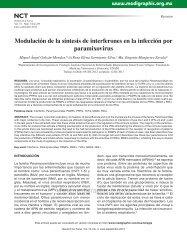 Modulación de la síntesis de interferones en la ... - edigraphic.com