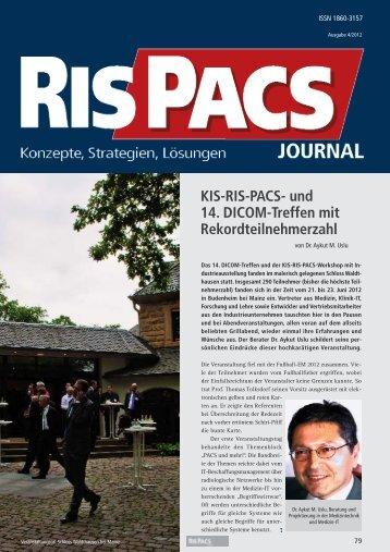 KIS-RIS-PACS- und 14. DICOM-Treffen mit ... - Medizin-EDV
