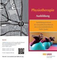 Physiotherapie - Medizinische Fakultät der Martin-Luther-Universität ...