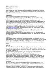 2006/07 Zwischenbericht