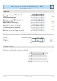 M07 - Vererbung, Urogenitaltrakt und endokrine Organe - DG01 ...