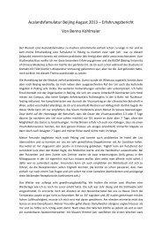 Beijing 2013-2 - Medizinische Universität Graz