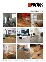 Download Meyer Parkett Preisliste 2013-2015 - Megaparkett