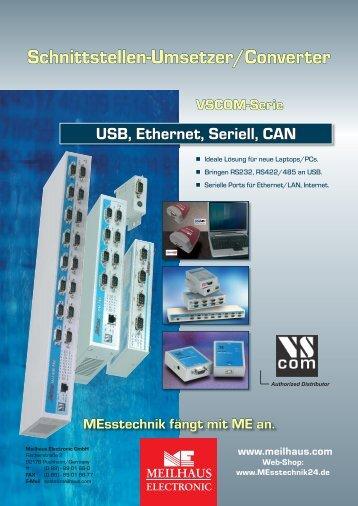 Schnittstellen-Umsetzer/Converter - Meilhaus Electronic