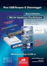 Pico USB-Scopes & Datenlogger - Meilhaus Electronic