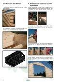 Montage-Anleitung für Ferien-Freizeithäuser - Mein-Gartenshop24.de - Seite 4