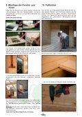 Montage-Anleitung für Ferien-Freizeithäuser - Mein-Gartenshop24.de - Seite 7