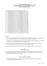 60.04 Beitrags- und Gebührensatzung zur ... - Meinerzhagen
