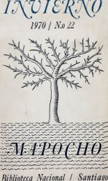 1970 No 22 - Memoria Chilena