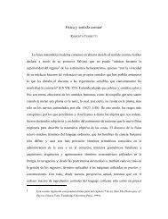 Física y sentido común† - Memoria Chilena