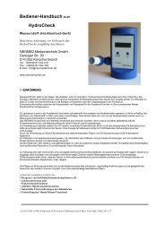Bediener-Handbuch 04-08 HydroCheck - Ferdinand Menzl ...