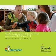 Qualifizierungsprogramm für Erzieher/-innen - Daimler