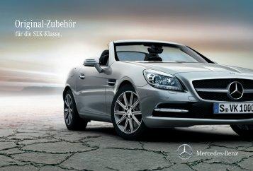 Original-Zubehör für die SLK-Klasse - Mercedes-Benz Accessories ...