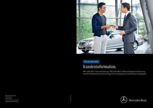 Versicherungsbedingungen - Mercedes-Benz Bank