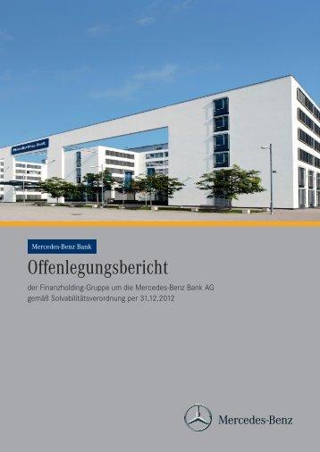 Offenlegungsbericht der Mercedes-Benz Bank 2012 (PDF)