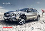 Download Preisliste GLA-Klasse gültig ab 29.11 ... - Mercedes-Benz
