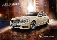 Preisliste Taxi und Mietwagen (PDF) - Mercedes-Benz Schweiz