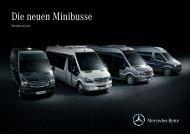 Die neuen Minibusse deutsch (PDF) - Mercedes-Benz Schweiz