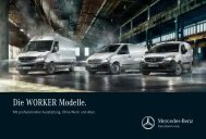 WORKER Broschüre - Mercedes-Benz Deutschland