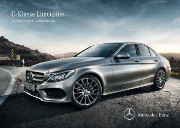 Download Preisliste C-Klasse Limousine - Mercedes-Benz ...