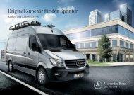 Original-Zubehör für den Sprinter. - Mercedes-Benz Deutschland