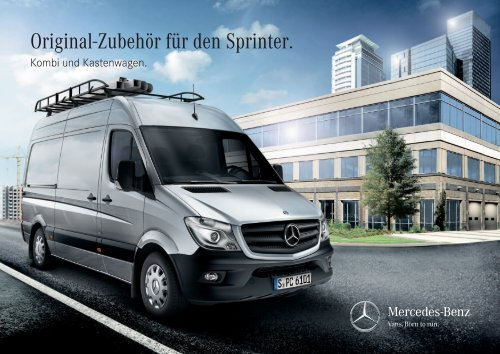original zubeh r f r den sprinter mercedes benz deutschland. Black Bedroom Furniture Sets. Home Design Ideas