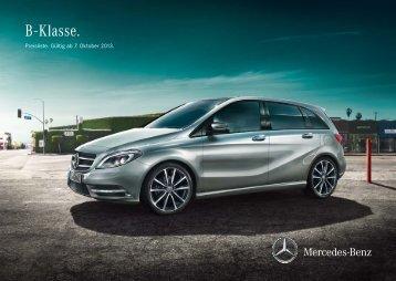 Download Preisliste B-Klasse - Mercedes-Benz Deutschland
