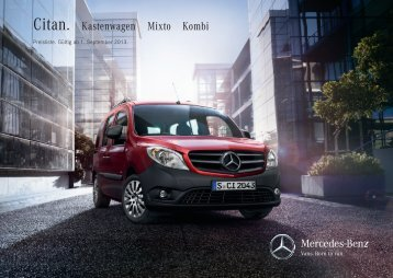 Download Preisliste Citan - Mercedes-Benz Deutschland