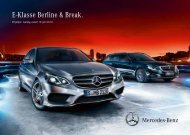 Download prijslijst E-Klasse Berline (PDF) - Mercedes-Benz in België