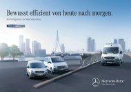 BlueEFFICIENCY Broschüre - Mercedes-Benz Deutschland