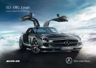 Download Preisliste SLS AMG Coupé - Mercedes-Benz Deutschland