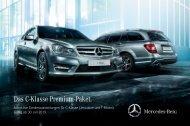 Das C-Klasse Premium-Paket. - Mercedes-Benz Deutschland