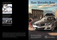 Details erhalten Sie in der More Mercedes-Benz Produkbroschüre ...