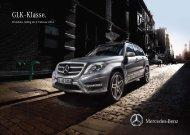 GLK - Klasse. - Mercedes-Benz Deutschland
