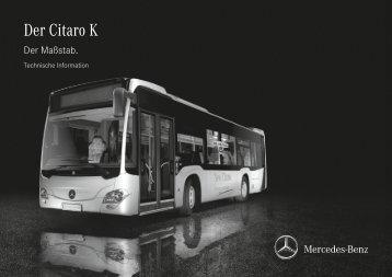 Citaro K RL deutsch (PDF) - Mercedes-Benz Deutschland