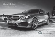 Classe E Berline_1126017.indd - Mercedes-Benz Luxembourg