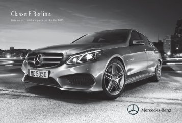 Classe E Berline_1126017.indd - Mercedes-Benz Luxembourg
