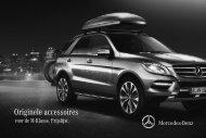 Prijslijst accessoires M-Klasse - Mercedes-Benz
