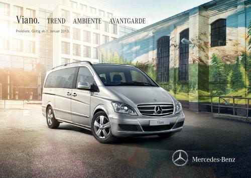 Prospekt Mercedes W639 Viano V-Klasse CDI 2.0 2.2 3.0 3.5 4MATIC Marco Polo 2011
