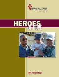 2008 Annual Report - Medical Teams International