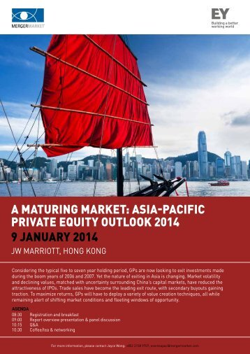 A mAturing mArket: AsiA-PAcific PrivAte equity ... - Mergermarket