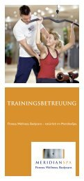 TRAININGSBETREUUNG - MeridianSpa