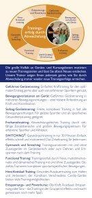 TRAININGSBETREUUNG - MeridianSpa - Seite 5