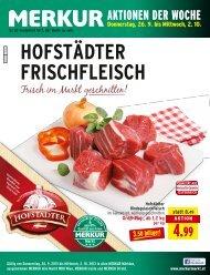 HoFStäDtER FRIScHFlEIScH - Merkur