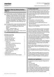 MEG6503-0201 KNX Zählerschnittstelle Modbus REG-K - Merten