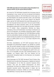 PDF-Datei der Pressemeldung (mit Aussteller ... - Messe Düsseldorf